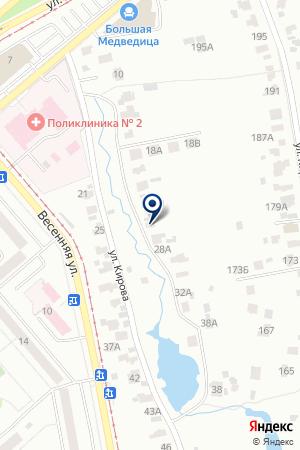 КАФЕ ПАРАДИЗ на карте Коломны