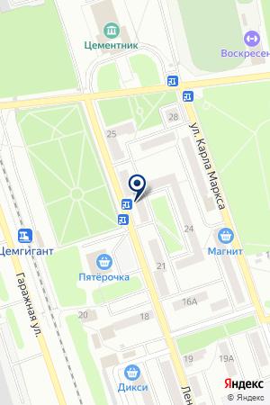 ПТФ ЭДЕЛЬВЕЙС на карте Воскресенска