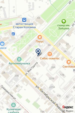 АТП НИКА на карте Коломны