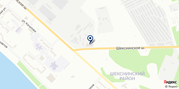 АЗС № 3 СМЕНА на карте Рыбинске