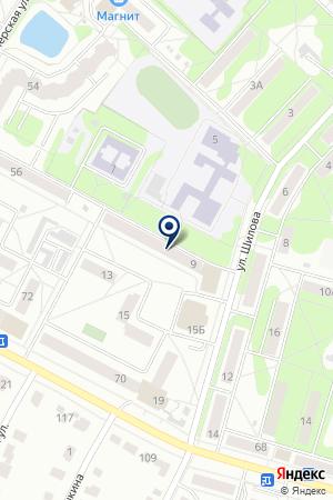 КАДРОВЫЙ ЦЕНТР КОЛОМЕНСКОЙ ТОРГОВО-ПРОМЫШЛЕННОЙ ПАЛАТЫ на карте Коломны