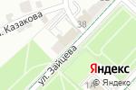 Схема проезда до компании Коломенское районное управление социальной защиты населения в Коломне