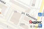 Схема проезда до компании Рязанский в Коломне