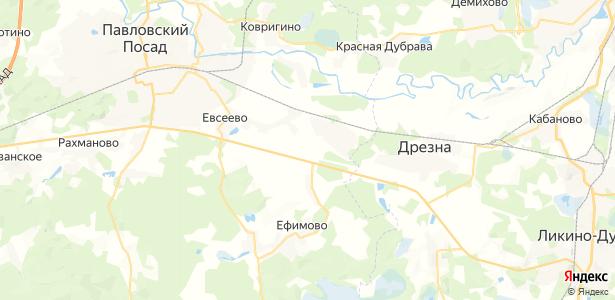 Стремянниково на карте