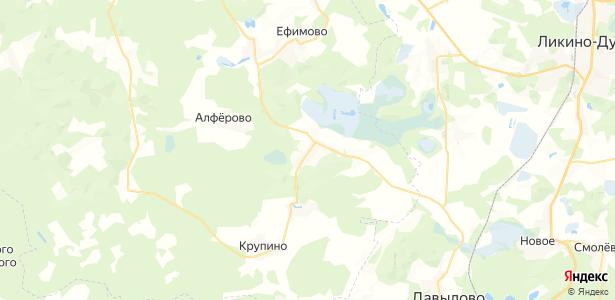 Данилово на карте