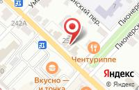 Схема проезда до компании Дом.ру в Коломне
