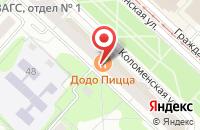 Схема проезда до компании Связь - Ктв в Коломне
