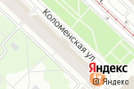 Схема проезда до компании Сундучок в Коломне