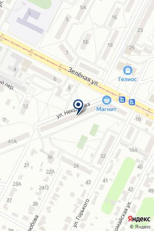 ТАКСИ ТРАНЗИТ на карте Коломны
