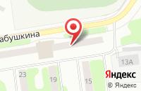 Схема проезда до компании Гурман Плюс в Рыбинске