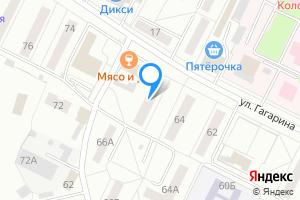 Сдается двухкомнатная квартира в Коломне Коломенский г.о., ул. Гагарина, 66