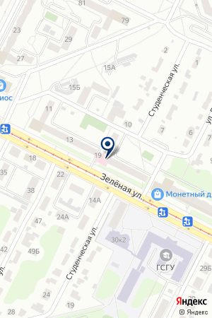 АПТЕКА № 558 на карте Коломны