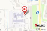 Схема проезда до компании Ёлочка в Электрогорске