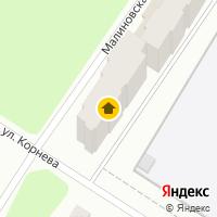 Световой день по адресу Россия, Ярославская область, городской округ Рыбинск, Рыбинск, Малиновская улица, 58