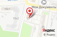Схема проезда до компании Волна в Электрогорске