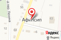 Схема проезда до компании Сбербанк в Афипсипе