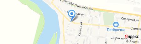 Оксана на карте Краснодара