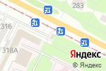Схема проезда до компании Хлебная точка в Коломне