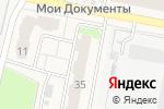 Схема проезда до компании Идеальная линия в Электрогорске