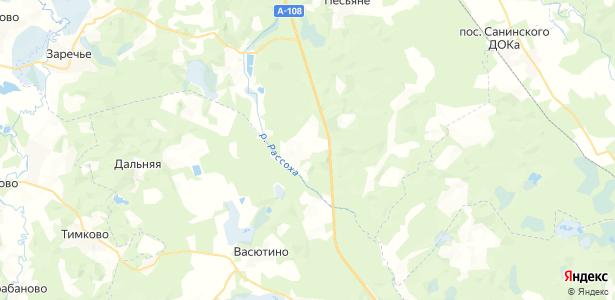 Головино на карте
