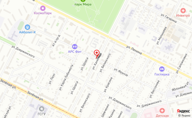 Карта расположения пункта доставки Халва в городе Коломна