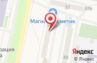 Схема проезда до компании Мегаполис-Сервис в Электрогорске