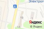 Схема проезда до компании Лесная аптека в Электрогорске