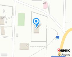 Схема местоположения почтового отделения 140480