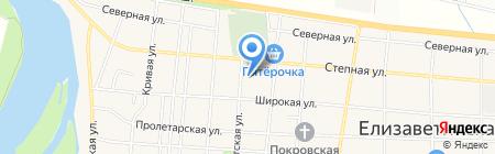Средняя общеобразовательная школа №76 на карте Краснодара