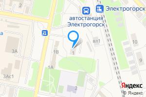 Сдается однокомнатная квартира в Электрогорске Советская ул., 1