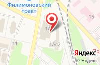 Схема проезда до компании Фортуна в Электрогорске