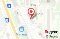Схема проезда до компании Дорраскат в Рыбинске