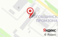 Схема проезда до компании Производственное Объединение Грузового Автомобильного Транспорта в Рыбинске