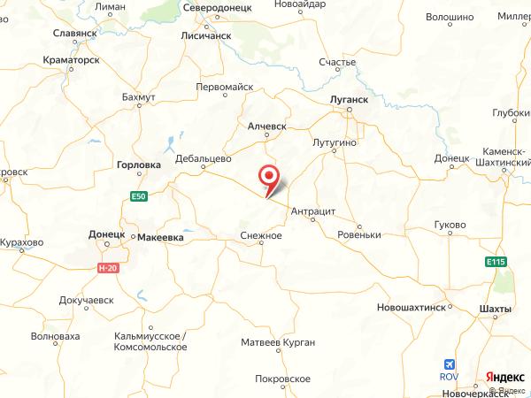 поселок городского типа Красный Кут на карте
