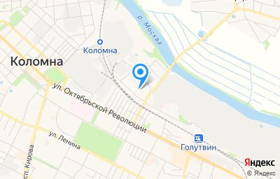 Местоположение на карте пункта техосмотра по адресу Московская обл, г Коломна, ул Митяево, д 2А