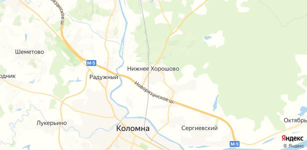 Нижнее Хорошово на карте