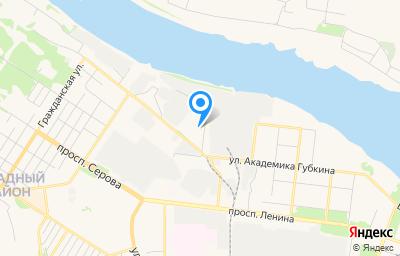 Местоположение на карте пункта техосмотра по адресу Ярославская обл, г Рыбинск, ул Танкистов, д 15