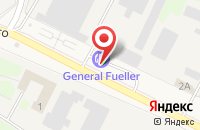 Схема проезда до компании GF в Электрогорске
