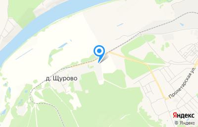 Местоположение на карте пункта техосмотра по адресу Московская обл, г Коломна, гск Коломенский