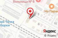 Схема проезда до компании Профиль в Коломне