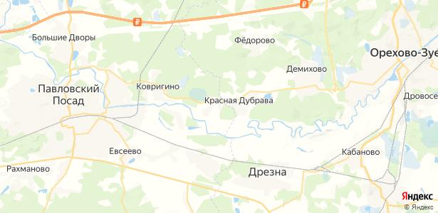 Демидово на карте