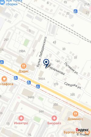 АВТОСЕРВИСНОЕ ПРЕДПРИЯТИЕ АВТО-С на карте Коломны