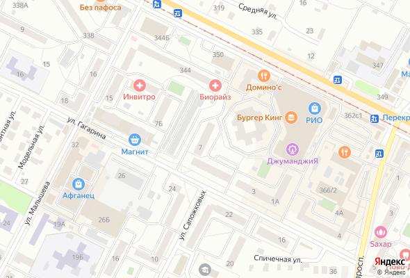 продажа квартир Гагарина 7