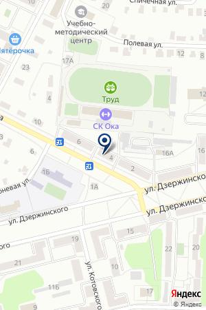 ПЕКАРНЯ ШУВАЛИКОВ С.В. на карте Коломны