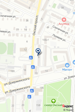RSPOL на карте Коломны