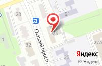 Схема проезда до компании Новые Телекоммуникационные Системы в Коломне