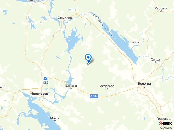 деревня Давыдково на карте