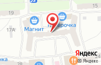 Схема проезда до компании Петушок в Рыбинске