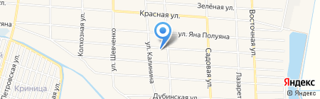 Детский сад №205 Колосок на карте Краснодара