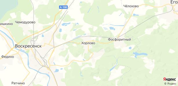 Хорлово на карте